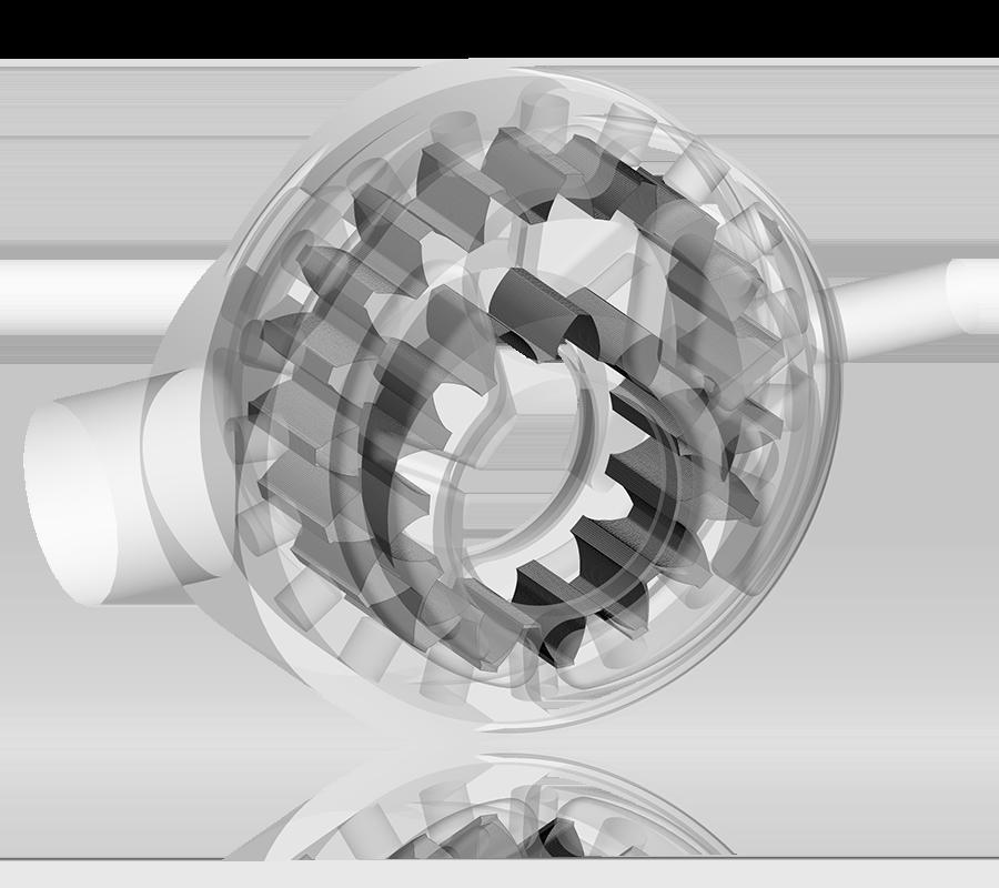 CFD Analysis of Internal Gear Pumps: 3D Mesh for an Internal Gear Pump