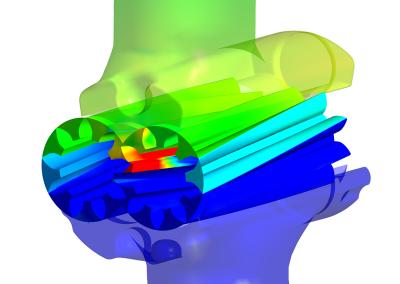 Reliable CFD Analysis of External Gear Pumps: Pressure on walls of an external gear pump