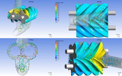 Advanced Postprocessing of Screw Compressor CFD Results