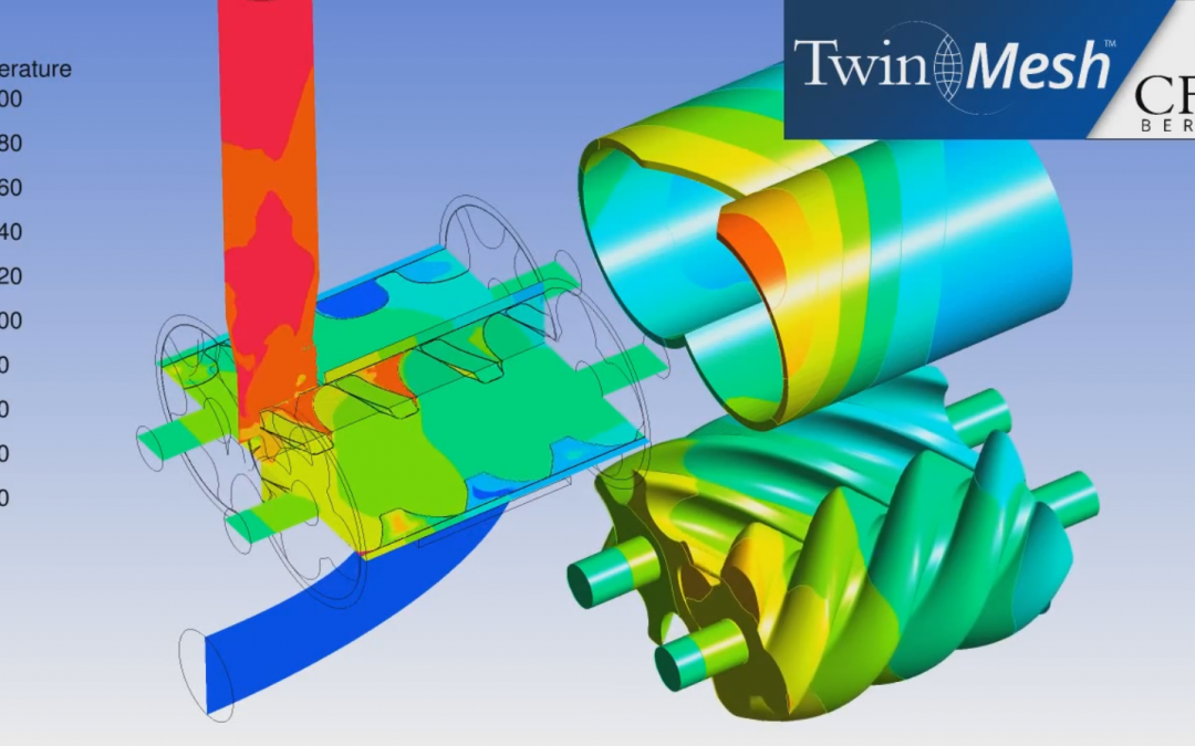 Preview of Conjugate Heat Transfer (CHT) for PD Machines Using TwinMesh™ 2019